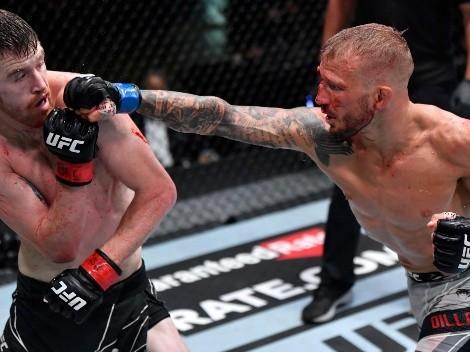 TJ Dillashaw brillo en una nueva noche de la UFC en Las Vegas