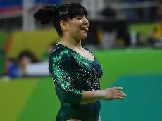 ¡Alexa Moreno luchará con Simone Biles por una medalla olímpica!