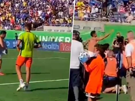 Ídolo de un pueblo: James Rodríguez y su hermoso gesto con un hincha en la tribuna