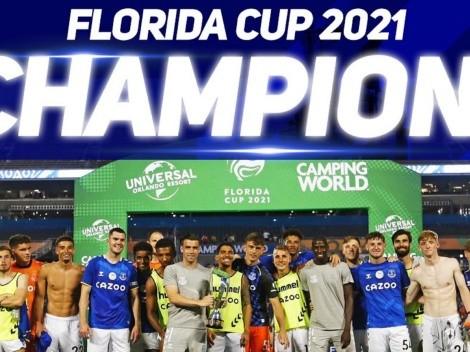 Everton venció a Millonarios y se consagró en la Florida Cup