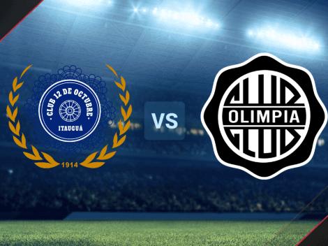 HOY | 12 de Octubre vs. Olimpia por la Liga de Paraguay: hora y TV para ver EN VIVO