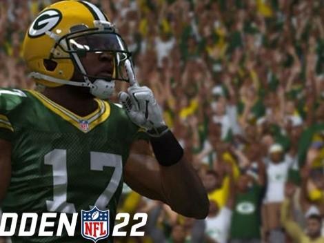 Revelados los Top 10 WR en el Madden NFL 22