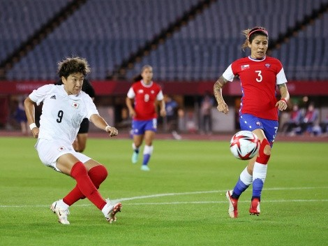 Guerrero se emocionó post eliminación de la Selección Chilena Femenina