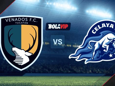 Cómo VER Venados de Yucatán vs. Celaya   TV y Hora para mirar EN VIVO el partido por la Liga BBVA Expansión MX