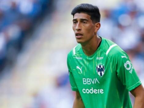 Andrada debutó en Monterrey, le hicieron un gol sobre la hora y los hinchas le pusieron un apodo