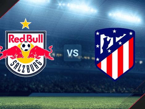 Red Bull Salzburgo vs. Atlético Madrid por un amistoso: hora y canal de TV para ver el encuentro EN VIVO