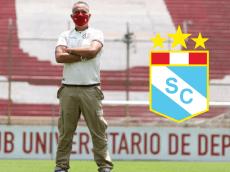 """Roberto Martínez criticó a Sporting Cristal: """"Ellos juegan en buenas canchas, nosotros donde parece cemento"""""""