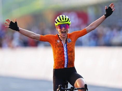 Revancha en Tokio 2020: Van Vleuten consiguió la medalla de oro en ciclismo de ruta