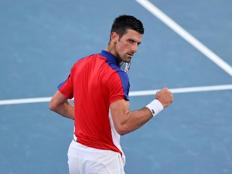 Novak Djokovic, entre los ocho mejores de Tokio 2020