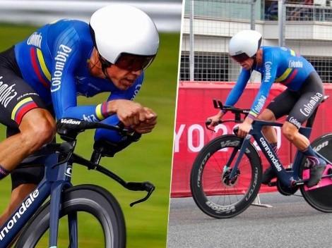 Rigo Urán le dio otro diploma olímpico a Colombia en la CRI de Tokio 2020