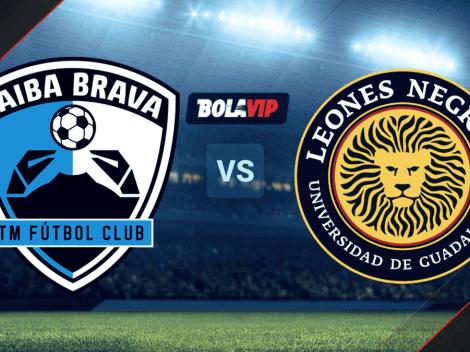 Qué canal transmite Tampico Madero vs. Leones Negros por la Liga BBVA Expansión MX