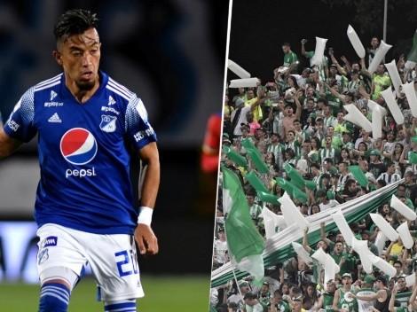 Hinchas de Nacional piden a sus jugadores lesionar de gravedad a Fernando Uribe