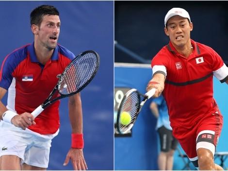 Novak Djokovic vs Kei Nishikori: Predictions, odds, and how to watch men's tennis at Tokyo 2020 Olympics in the US