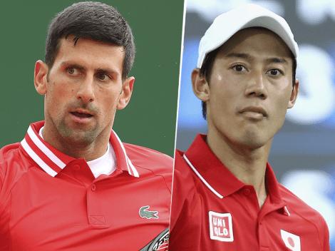 Tenis masculino: cómo ver Novak Djokovic vs. Kei Nishikori por los Juegos Olímpicos Tokio 2020