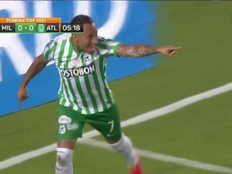 Cae el primero del verde: golazo de Jarlan para que Nacional se ilusione en el clásico