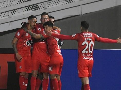 Calera vence a Palestino y es líder del Campeonato Nacional