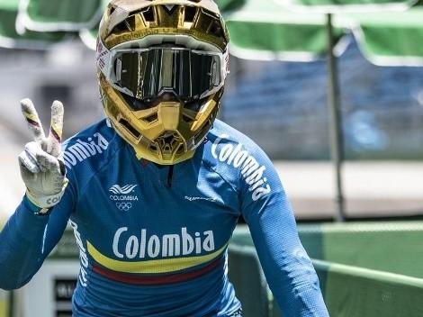 Arrolladora: Mariana Pajón pasó a las semifinales del BMX sin despeinarse