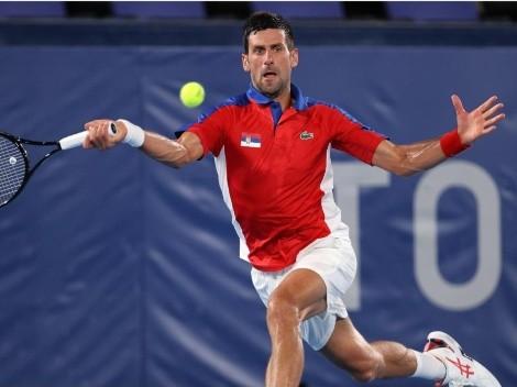 Novak Djokovic ya está en semifinales de Tokio 2020