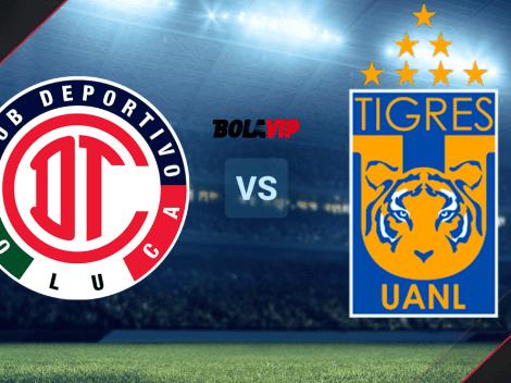 Toluca vs. Tigres UANL por el Grita México A21 de la Liga MX: día, hora y canal de TV