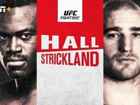 Cuándo es el UFC Fight Night: Uriah Hall vs. Sean Strickland: fecha, hora y canal de TV | Cartelera completa | UFC Vegas 33