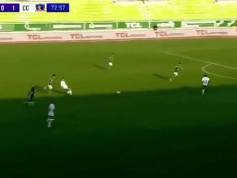 Genio y figura: Gabriel Costa regaló asistencia de lujo en la goleada de Colo Colo (4-0) vs. Wanderers