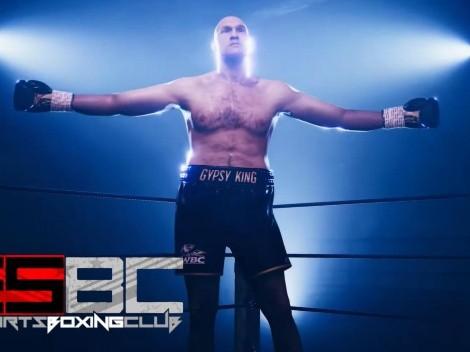 Tyson Fury confirmado para el nuevo videojuego de boxeo eSports Boxing Club