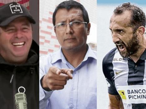 """Hernán Barcos encaró al 'Tigrillo Navarro y 'Puchungo' Yañez tras acusaciones: """"Díganme el nombre de su informante"""""""