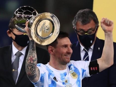 """Nico González definió a Messi de manera increíble: """"Estaba como ..."""""""