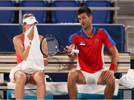 Djokovic, criticado por su polémica actitud en juego de Dobles Mixto