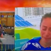 Mariana Pajón rompió en llanto tras conseguir la medalla de plata en Tokio 2020