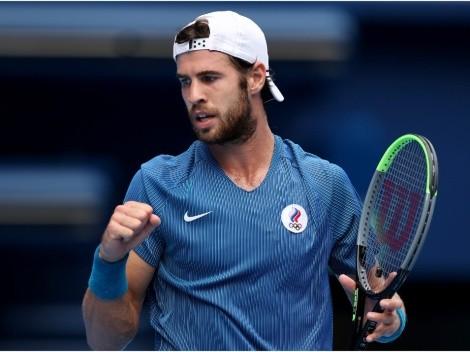 Tenis: Khachanov es el primer finalista de Tokio 2020