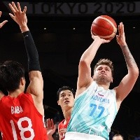 Tokio 2020: Luka Doncic suma una racha perfecta con la Selección de Eslovenia