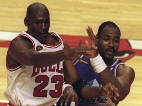 Sacó a Michael Jordan: el mejor quinteto de la historia NBA según Karl Malone