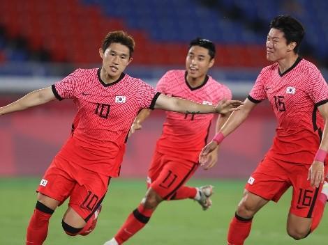 Los dos goles de Corea del Sur frente a México