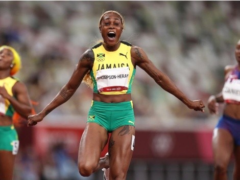 Elaine Thompson vuelve a ser la reina de los 100 metros con récord olímpico