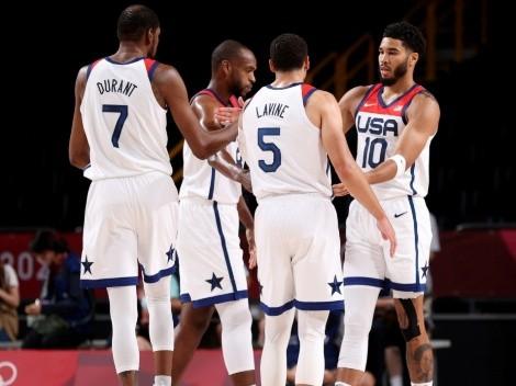 Estados Unidos se mete en cuartos de final en el básquetbol de Tokio 2020