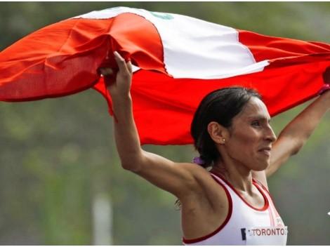 Encabezados por Gladys Tejeda, delegación de atletismo llegó a Tokio 2020