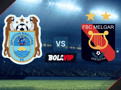 Qué canal transmite Deportivo Binacional vs Melgar por la Liga 1 de Perú 2021
