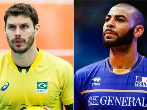 Brasil x França: saiba onde assistir AO VIVO à partida de voleibol masculino