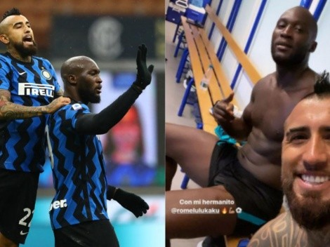 "Arturo Vidal entrena a full con su ""hermanito"" Romelu Lukaku"