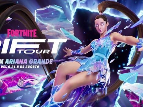 Fecha y Hora para el concierto de Ariana Grande en Fortnite
