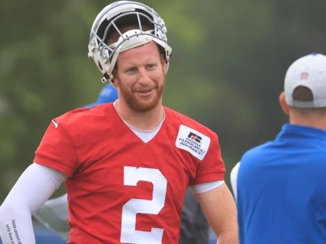 Carson Wentz afuera indefinidamente con Indianapolis Colts