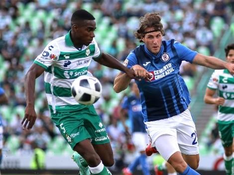 Santos hizo justicia y le igualó a Cruz Azul cerca del final