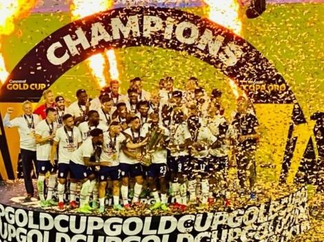 ¡Campeones de la Copa Oro! Estados Unidos venció a México en el tiempo extra de la gran final
