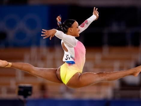 Rebeca Andrade fica em quinto no solo e não sobe ao pódio