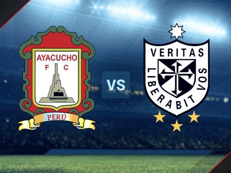 EN VIVO: Ayacucho vs. Universidad San Martín por la Liga 1