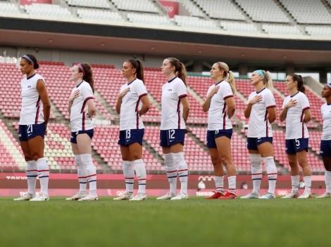 ¿Cuándo jugará USA por el bronce del fútbol femenino en Tokio 2020?
