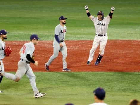 USA no puede con Japón en el béisbol de Tokio 2020