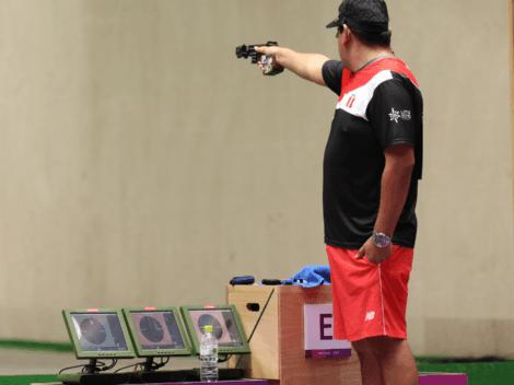 Marko Carillo terminó en el puesto 18 y no consiguió pase a la final de '25 metros pistola tiro rápido'