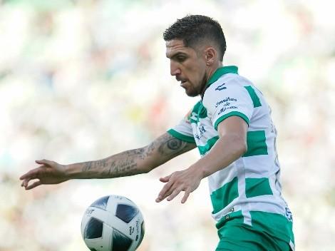 Valdés disfruta de un buen presente con Santos Laguna